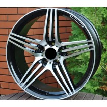 R Line MDW202 black polished 17x7,5 5x112 ET35 66,6