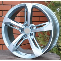 R Line ADW5098 anthracite polished 20x7,5 5x112 ET40 66,6