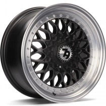 Seventy9 SV-E 17x7,5 5x112/120 ET35 72,6 matt black lip polished