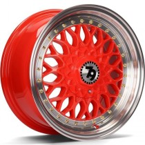 Seventy9 SV-E 15x7 4x100/114,3 ET30 67,1 red lip polished