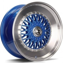 Seventy9 SV-F 15x7 4x100/114,3 ET30 67.1 blue lip polished