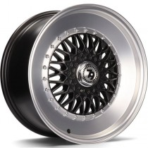 Seventy9 SV-F 17x8 5x112/114,3 ET30 67.1 black matt lip polished