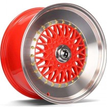 Seventy9 SV-F 15x7 4x100/114,3 ET30 67.1 red lip polished