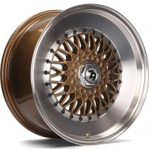 Seventy9 SV-F 16x7 4x100/114,3 ET30 67.1 bronze lip polished