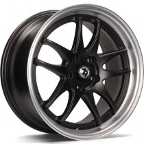 Seventy9 SV-I 17x8 5x112 ET35 matt black / polished lip