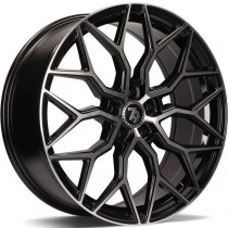Seventy9 SV-K 20x8 5x112 ET30 66,6 black front polished