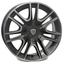 WSP Italy Fabro 15x6 4x98 ET30 58,1 anthracite polished