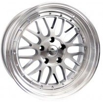 "Forzza Spot 18"" silver machined"