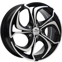 Forzza Aktia 14x5,5 4x100 ET40 73,1 black polished