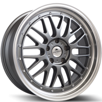 Forzza Brave 19x8,5 anthracite / polished lip