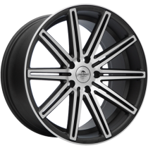 Forzza Vertin 19x8,5 matt anthracite polished