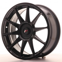Japan Racing JR11 18x7,5 blank glossy black