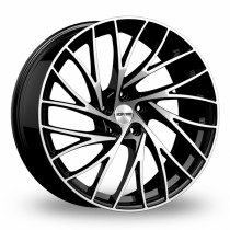 GMP Enigma 20x9,5 black polished