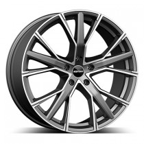 GMP Gunner 22x9 anthracite polished