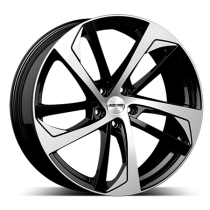 GMP Katana 19x8 black polished