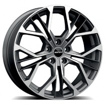 GMP Matisse matt anthracite diamond 17x7