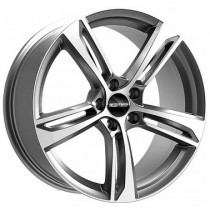 GMP Paky 20x9 anthracite polished