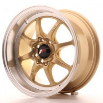Japan Racing TF2 15x7,5 gold