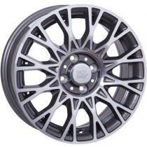 WSP Italy Grace 15x6 anthracite polished