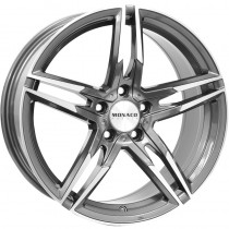 Monaco Grand Prix anthrazite polished 18x8