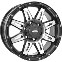 Inter Action Grabber 17x8 black polished
