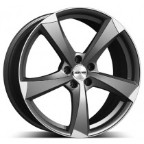 GMP Ican Matt Anthracite Diamond 19x8.5 5x112