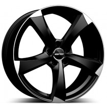 GMP Ican Satin Black Diamond 20x8.5 5x112