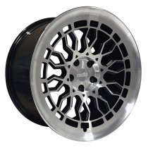RADI8 R8A10 18x8,5 Gloss Black-Polished Face