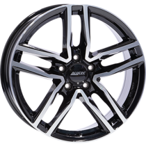 Alutec Ikenu 18x8 black polished