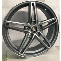 4Racing RL43 anthracite polished 17x7 5x114,3 ET46 67,1