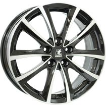 IT Wheels Elena 17x7 black polished