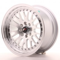Japan Racing JR10 17x8 machined silver