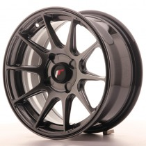 Japan Racing JR11 16x7 blank dark hiper black