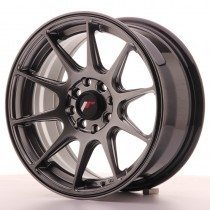 Japan Racing JR11 16x7 dark hiper black