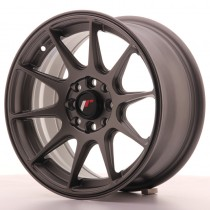 Japan Racing JR11 15x8 matt gun metal