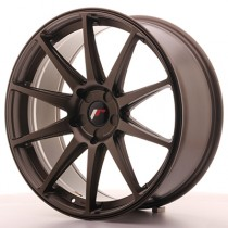 Japan Racing JR11 20x8,5 blank matt bronze