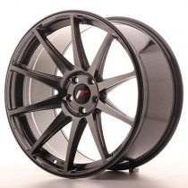 Japan Racing JR11 20x10 blank hiper black