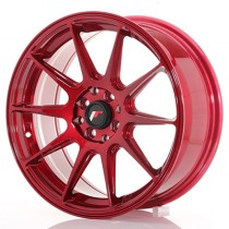 Japan Racing JR11 17x9 blank platinum red