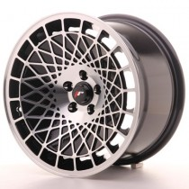 Japan Racing JR14 15x8 Blank black machined
