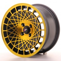 Japan Racing JR14 15x8 blank black gold