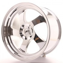 Japan Racing JR15 17x8 Blank vacum chrome