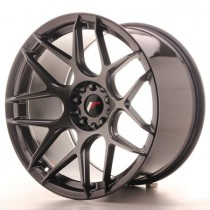Japan Racing JR18 17x8 Hiper Black