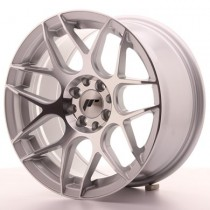 Japan Racing JR18 17x8 silver machined