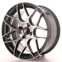 Japan Racing JR18 17x8 Blank black machined