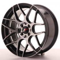 Japan Racing JR18 18x7,5 black machined