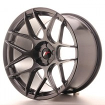 Japan Racing JR18 17x8 Blank Hiper Black