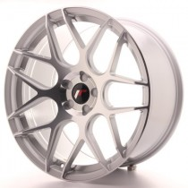 Japan Racing JR18 17x8 Blank silver machined