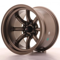 Japan Racing JR19 15x10,5 matt bronze