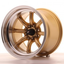 Japan Racing JR19 15x10.5 gold