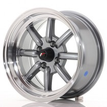 Japan Racing JR19 14x7 4x100 ET0 gun metal